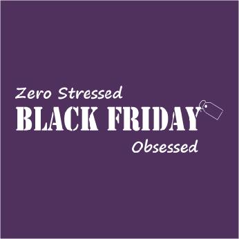 Zero Stressed Black Friday