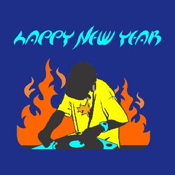 DJ Party Happy New Year