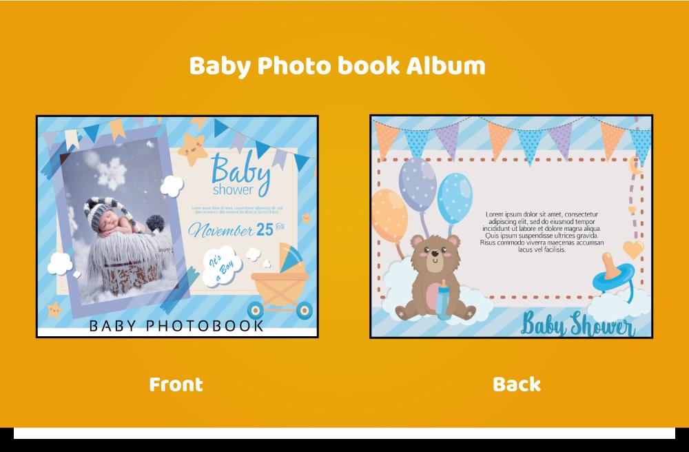 Baby_photobook a05-p12 11x8inch