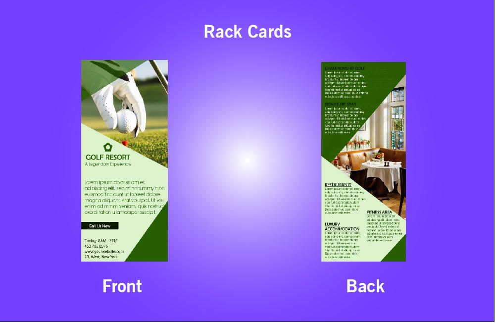 Golf Resort Rack Card - 42 (4x9)