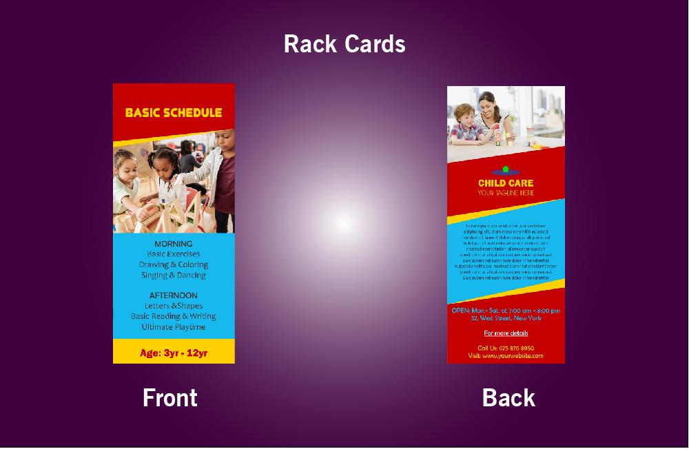 Child Care Rack Card - 43 (4x9)