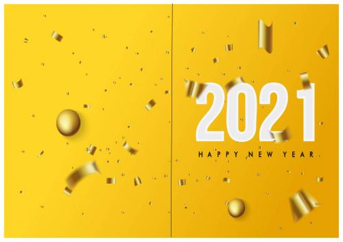 Happy New Year Card 001