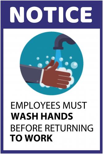 Handwash Sign 2 ( 36x24 )