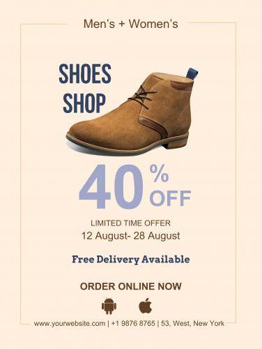 Shoes Shop Poster - 39 (18x24)