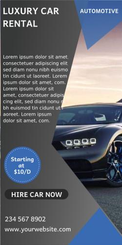 Luxury Car Rental Automotive (600x1200)