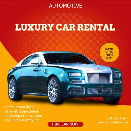 Luxury Car Automotive (1080x1080)