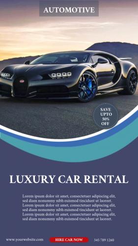 Automotive Car Rental (1080x1920)