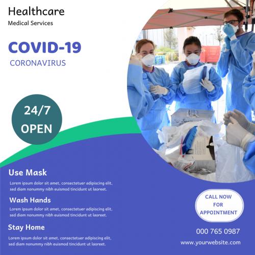 Healthcare Covid-19 Service (1080x1080)