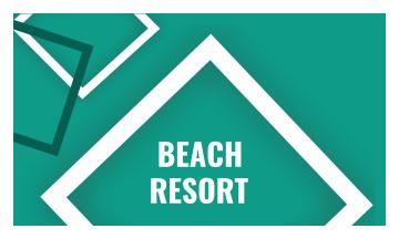 Resort Business Card