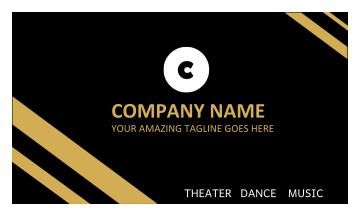 Company Name Business Card