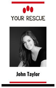 Rescue I'd Card