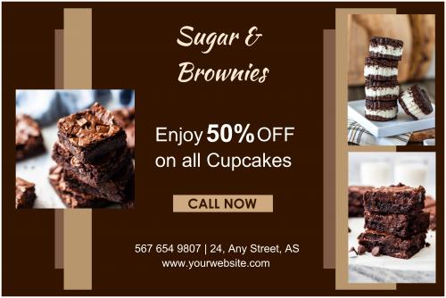 Sugar & Brownies Banner