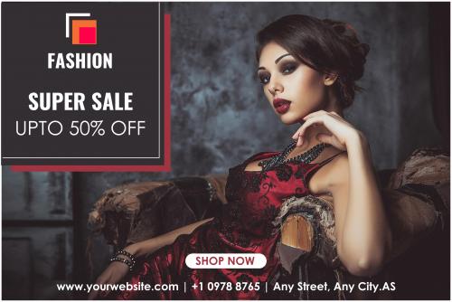 Fashion Factory Sale Banner