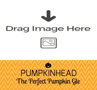 Photo Label Orange