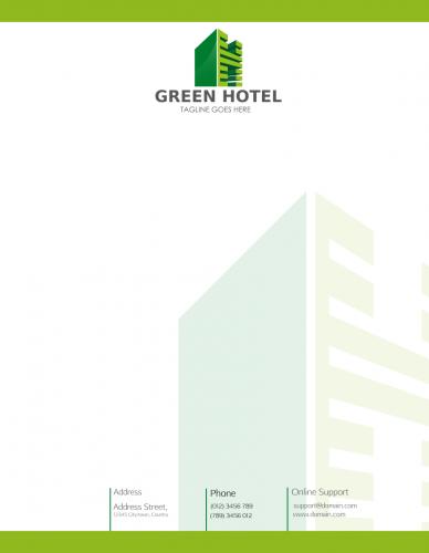 Letterhead(green Hotel)