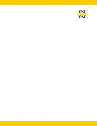 Letterhead (onezeroone)