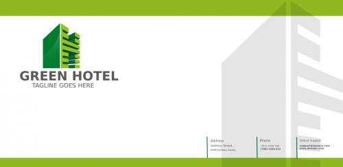 Envelope (green hotel)