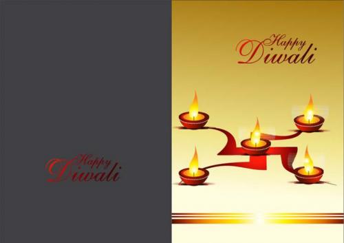 Happy Diwali (Diyas)