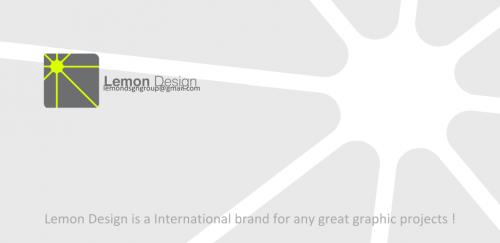 Lemon Design Envelope