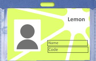 Lemon Design ID Card