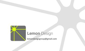 Lemon Design Business Cards